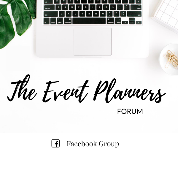The Event Planners Forum Facebook Group